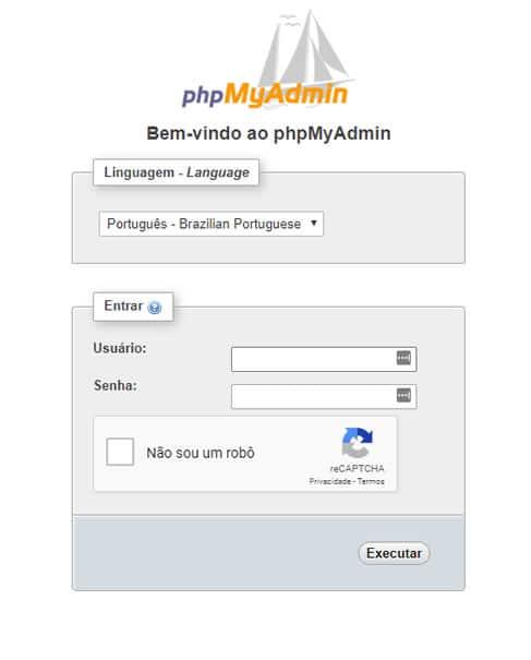 Segurança do phpMyAdmin contra ataque de Brute Force